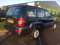 USED 2006 06 HYUNDAI TERRACAN 2.9 CDX CRTD 5 DOOR 4WD 161 BHP   **LOW MILES FOR AGE**