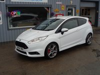 USED 2014 64 FORD FIESTA 1.6 ST-3 3d 180 BHP 37K ST-3 with style pack ONLY 37K