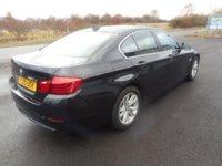 USED 2015 15 BMW 5 SERIES 2.0 520D SE 4d AUTO 188 BHP SAT NAV LEATHER 98000 MILES