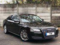 2011 AUDI A8 3.0 TDI QUATTRO SE EXECUTIVE 4d AUTO 250 BHP £12495.00