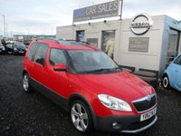 USED 2012 62 SKODA ROOMSTER 1.6 SCOUT TDI CR 5d 103 BHP