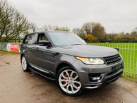 2015 LAND ROVER RANGE ROVER SPORT 3.0 SDV6 AUTOBIOGRAPHY DYNAMIC 5d AUTO 306 BHP £50000.00