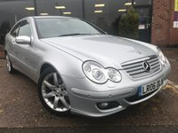 2006 MERCEDES-BENZ C CLASS 1.8 C200 KOMPRESSOR SE SPORTS 3d AUTO 161 BHP £3295.00