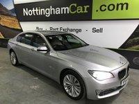 2014 BMW 7 SERIES 3.0 730LD SE EXCLUSIVE 4d AUTO 255 BHP £20995.00