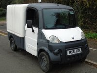 USED 2011 61 AIXAM MEGA 600 AUTOMATIC ELECTRIC BOX VAN (DIRECT COUNCIL) +CONGESTION CHARGE FREE+TAX EXEMPT+