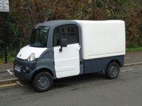 2011 AIXAM MEGA 600 AUTOMATIC ELECTRIC BOX VAN (DIRECT COUNCIL) £4950.00