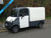 2011 AIXAM MEGA 600 AUTOMATIC ELECTRIC BOX VAN (DIRECT COUNCIL) £4950.00