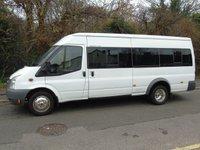 2009 FORD TRANSIT T430 2.4TDCI 140BHP 17 SEATER LWB PANEL VAN £6995.00