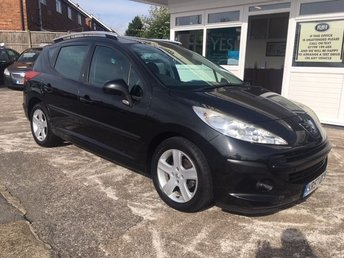2007 PEUGEOT 207 Rare 1.4 Station Wagon S - 5dr Superb Car!!!! £1995.00