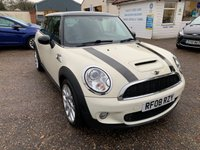 USED 2008 08 MINI HATCH COOPER 1.6 COOPER S 3d AUTO 172 BHP AUTOMATIC