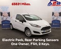 2014 FORD FIESTA 1.5 TDCI 75 BHP 65,831 miles, One Owner From New, F.S.H, 2 Keys, Rear Parking Sensors, 2 Keys, Electric Pack £4480.00