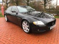 2009 MASERATI QUATTROPORTE 4.2 V8 4d AUTO 400 BHP £22990.00