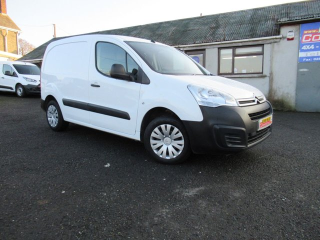 744738ff2f 2017 17 CITROEN BERLINGO 1.6 625 ENTERPRISE L1 HDI 75 BHP 3 SEATER