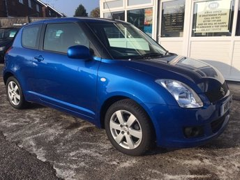 2011 SUZUKI SWIFT 1.3 SZ4 STUNNING AZURE BLUE METALLIC.!!! WOW..!! £2995.00