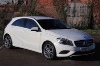2013 MERCEDES-BENZ A CLASS 1.6 A180 BLUEEFFICIENCY SPORT 5d AUTO 122 BHP £10400.00