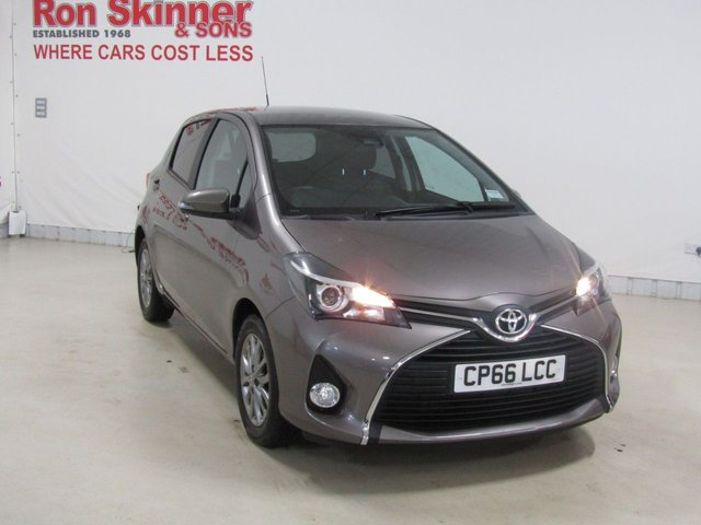 View our 2016 66 TOYOTA YARIS 1.3 VVT-I ICON TSS 5d 99 BHP
