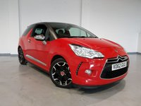 USED 2012 62 CITROEN DS3 1.6 E-HDI AIRDREAM DSPORT PLUS 3d 111 BHP Full Leather Upholstery + Nationwide Warranty Included + No Deposit Low Rate Finance Available