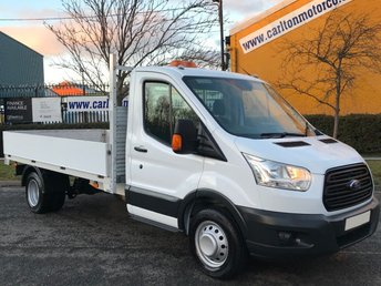 2015 FORD TRANSIT 2.2 350 LWB L3 DROPSIDE 12ft ALLOY BODY DRW TDCi 125 F,SH, £10950.00