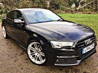 2014 AUDI A5 2.0 SPORTBACK TDI QUATTRO S LINE BLACK ED S/S 5d 175 BHP £16495.00