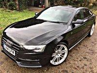 USED 2014 14 AUDI A5 2.0 SPORTBACK TDI QUATTRO S LINE BLACK ED S/S 5d 175 BHP BLACK EDITION, QUATTRO, HIGH SPEC, S LINE,