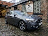 2013 BMW 1 SERIES 2.0 116D SPORT 5d 115 BHP £9995.00