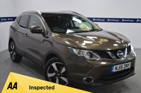 USED 2015 15 NISSAN QASHQAI 1.2 N-TEC PLUS DIG-T 5d 115 BHP (ONE OWNER - FULL NISSAN SERVICE HISTORY)