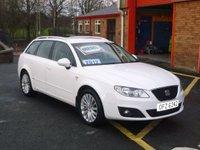 2012 SEAT EXEO 2.0 CR TDI SE TECH 5d 141 BHP £7250.00