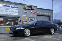USED 2011 JAGUAR XJ 3.0 D V6 LUXURY LWB 4d AUTO 275 BHP   64K FSH Jaguar FULL JAGUAR SERVICE HISTORY  DYNAMIC SPLIT SC REEN DVD