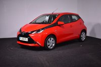 USED 2016 66 TOYOTA AYGO 1.0 VVT-I X-PLAY X-SHIFT 5d AUTO 69 BHP £0 TAX + MANUFACTURER WARRANTY + LOW MILES