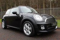 USED 2012 62 MINI HATCH COOPER 1.6 COOPER 3d 122 BHP HIGH SPEC CAR WITH FULL HEATED LEATHER, LOW OWNERS AND FULL HISTORY!!!