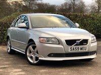 2009 VOLVO S40 2.0 D R-DESIGN 4d 136 BHP £5895.00