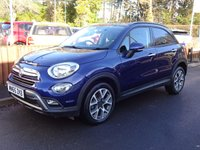 2015 FIAT 500X 1.6 MULTIJET CROSS 5dr, GREAT SPEC £8995.00