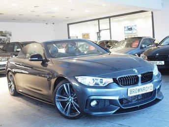 2014 BMW 4 SERIES 3.0 430D M SPORT 2d AUTO 255 BHP £19990.00