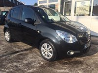 USED 2012 62 VAUXHALL AGILA 1.2 SE 5door Hatch - LOW MILEAGE - IMMACULATE!! MAIN DEALER HISTORY!