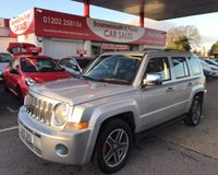 2010 JEEP PATRIOT 2.0 SPORT CRD 5d 139 BHP £3995.00