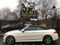 2017 MERCEDES-BENZ C CLASS 2.1 C 250 D AMG LINE PREMIUM PLUS 2d AUTO 201 BHP £27499.00