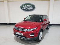 USED 2013 63 LAND ROVER RANGE ROVER EVOQUE 2.2 SD4 PURE TECH 5d 190 BHP Sat-Nav/Sunroof/Sensors With Camera/Merdian Sound