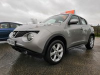 USED 2011 NISSAN JUKE 1.6 ACENTA 5d 117 BHP JUST ARRIVED IN