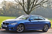 USED 2014 14 BMW 4 SERIES 3.0 430D M SPORT 2d AUTO 255 BHP