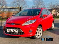 USED 2012 62 FORD FIESTA 1.25 Zetec 3dr Fantastic Drive