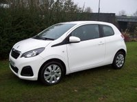 USED 2016 66 PEUGEOT 108 1.0 Active 3dr Ideal 1st Car