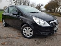 2009 VAUXHALL CORSA 1.2 CLUB A/C CDTI ECOFLEX 3d 2 FORMER KEEPERS + HISTORY £1499.00