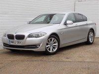 2013 BMW 5 SERIES 2.0 520D SE 4d AUTO 181 BHP £8380.00