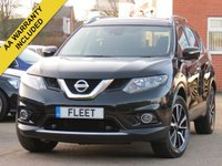 USED 2015 65 NISSAN X-TRAIL 1.6 DCI N-TEC 5DR AWD 7 SEATER 7 SEATS, FULL MAIN DEALER SERVICE HISTORY, SATELLITE NAVIGATION, PANORAMIC SUNROOF