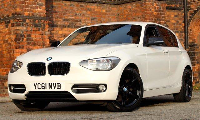2011 61 BMW 1 SERIES 2.0 118D SPORT 5d 141 BHP