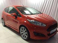 2013 FORD FIESTA 1.0 ZETEC S 3d 124 BHP £6500.00