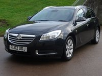 USED 2012 62 VAUXHALL INSIGNIA 2.0 SE NAV CDTI ECOFLEX S/S 5d 157 BHP 1 PREVIOUS KEEPER * NAVIGATION SYSTEM *  MEDIA CONNECTIVITY * CRUISE CONTROL *  FULL YEAR MOT *