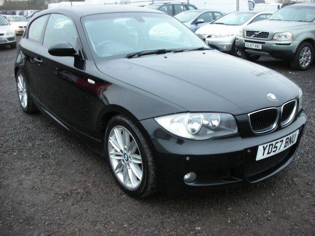 2007 57 BMW 1 SERIES 2.0 120D M SPORT 3d AUTO 175 BHP