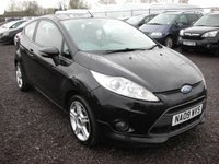 USED 2009 09 FORD FIESTA 1.6 ZETEC S TDCI 3d 89 BHP Cambelt changed - Cheap tax