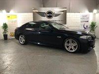 USED 2013 62 BMW 5 SERIES 2.0 520D M SPORT 4d AUTO 181 BHP